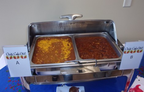 1st Annual Chili Cook Off Winners Announced